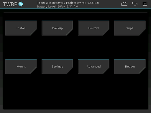 Download I9505 Galaxy S4 TWRP and Stock Recovery