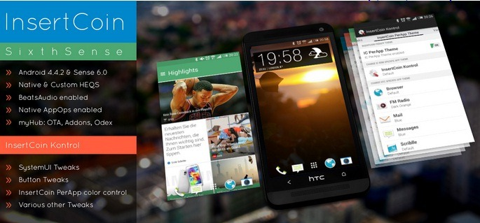 Android 4.4.2 HTC Butterfly ROM