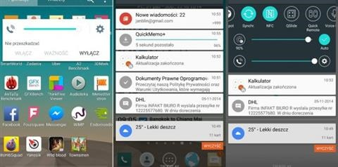 Android 5.0 looks on LG G3