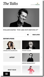 The Talks magazine launches new iPhone application