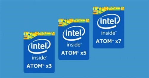 Intel Atom X5 Z8300, Z8500, X7 Z8700 benchmark