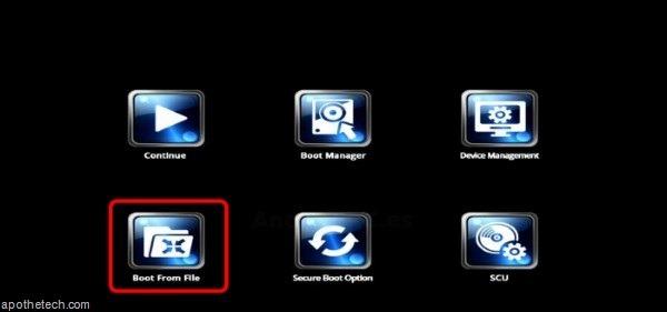 Reinstall Windows in CX-W8 Mini PC using USB flash drive