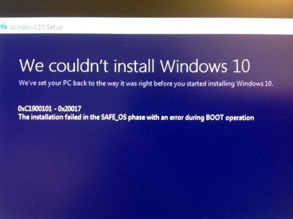 #Windows10fail twitter apothetech