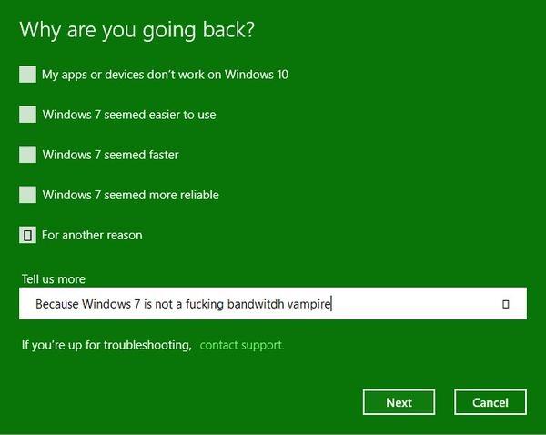 #Windows10fail twitter