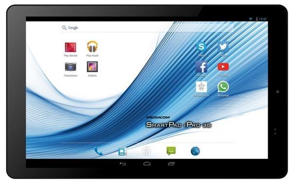 Mediacom Smartpad 10.1 HD iPro111 3G specifications