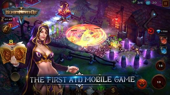 Heroes Never Die iPhone and iPad cheats