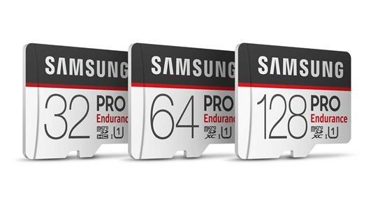 Samsung Pro Endurance micro SD cards price specs