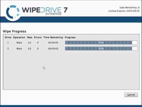 wipe drive