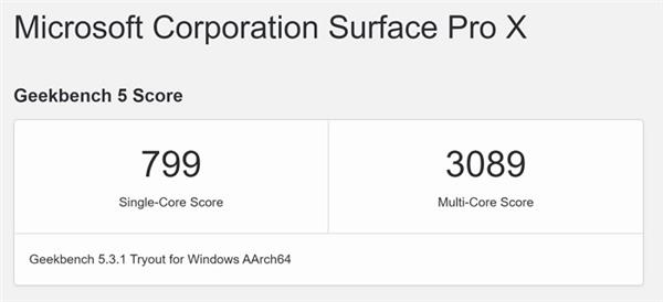 Macbook Air M1 runs Windows 10 faster than Surface Pro X with Snapdragon SQ2